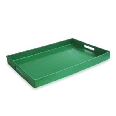 Rectangular Serving Tray in Green