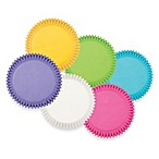 Wilton® Bright Rainbow Multi-Colored Baking Cups