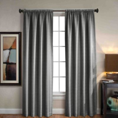 Sonoma Rod Pocket/Back Tab 84-Inch Window Curtain Panel in Red