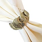 Ringlets Napkin Ring in Gold
