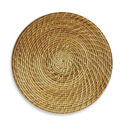 Natural Rattan Round 15-Inch Placemat