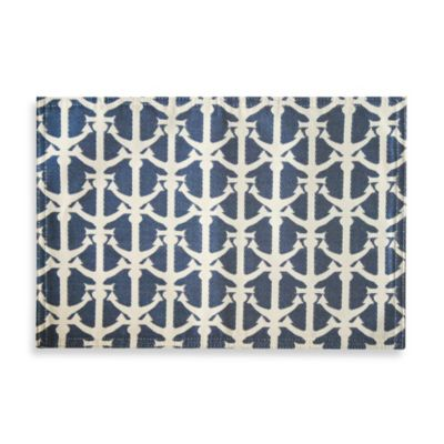 Drop Anchor Jacquard Reversible Placemat