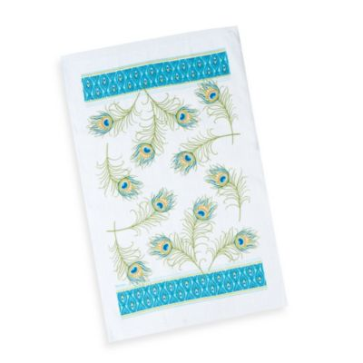 Peacock Terry Kitchen Towel