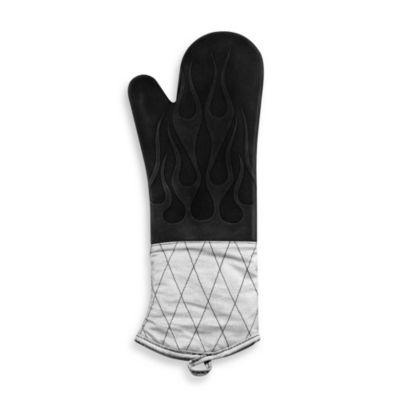 Silicone Quilted BBQ Oven Mitt