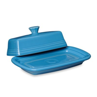 Fiesta Covered Butter Dish Dining Accessories