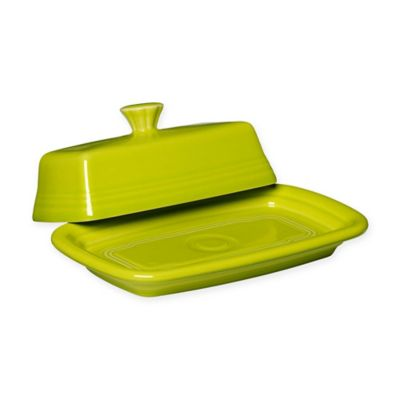 Fiesta® 8-Inch Covered Butter Dish in Lemon Grass