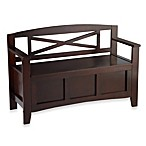 Linon Home Crosby Storage Bench