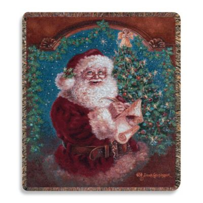 Holiday Christmas Magic Throw Blanket