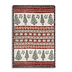 Holiday Christmas Topiaries Throw Blanket