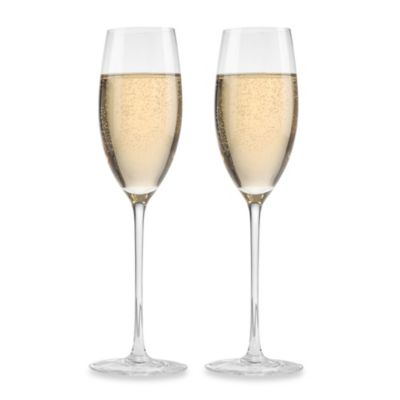 Aquarius 8-Ounce Flutes (Set of 2)