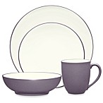 Noritake® Colorwave 4-Piece Place Setting in Plum