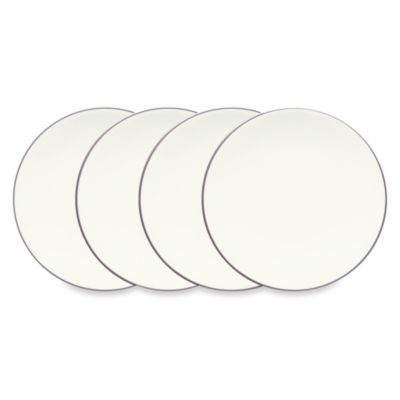 Noritake® Colorwave Mini Plates in Plum (Set of 4)