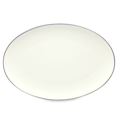 Noritake® Colorwave 16-Inch Oval Platter in Plum