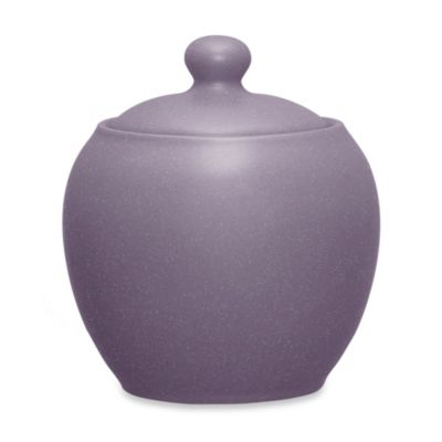 Noritake® Colorwave 13-Ounce Sugar Bowl with Cover in Plum