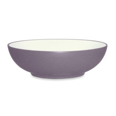 Noritake® Colorwave Round 64-Ounce Vegetable Bowl in Plum