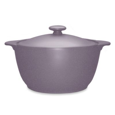 Noritake® Colorwave 2-Quart Casserole Dish in Plum