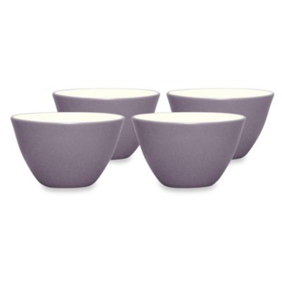 Noritake® Colorwave 4-Inch Mini Bowl Set in Plum (Set of 4)