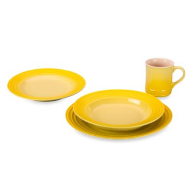 Le Creuset® 4-Piece Dinnerware Set