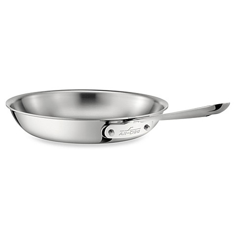 All-Clad Stainless Steel 10-Inch Fry Pan