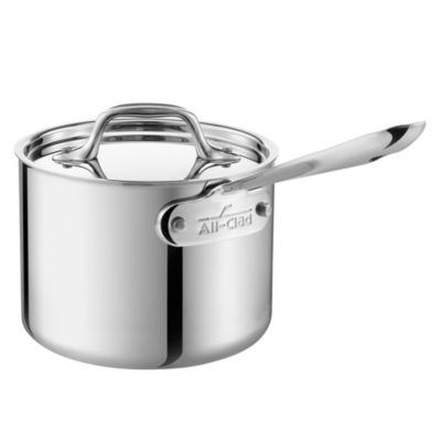All-Clad Stainless Steel 2-Quart Covered Saucepan