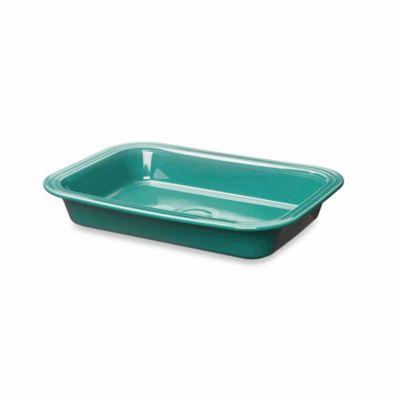 Fiesta® 9-Inch x 13-Inch Rectangular Baker in Turquoise