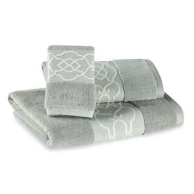 Elegant Decorative Bath Towels
