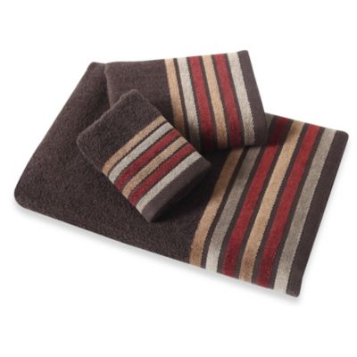 Bombay® Bath Towel in Brown