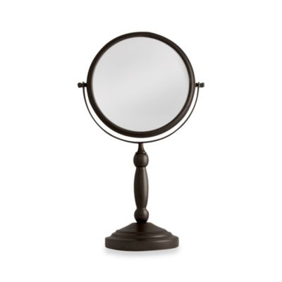 Two-Sided Vanity Swivel Mirror