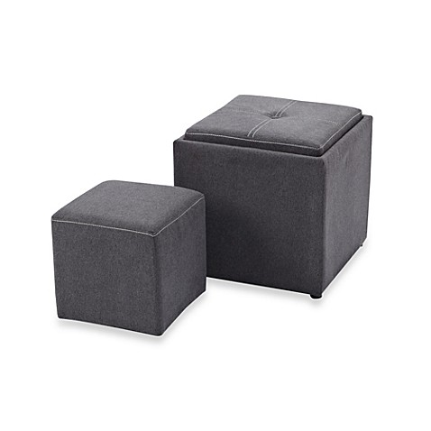 Buy Storage Ottoman Furniture From Bed Bath Amp Beyond