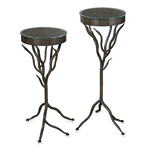Buy Uttermost Esher Plant Stands Set Of 2 From Bed Bath