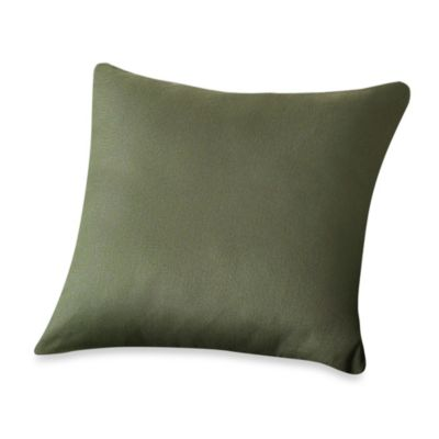 Sure Fit® 18-Inch Square Twill Supreme Throw Pillow in Coffee