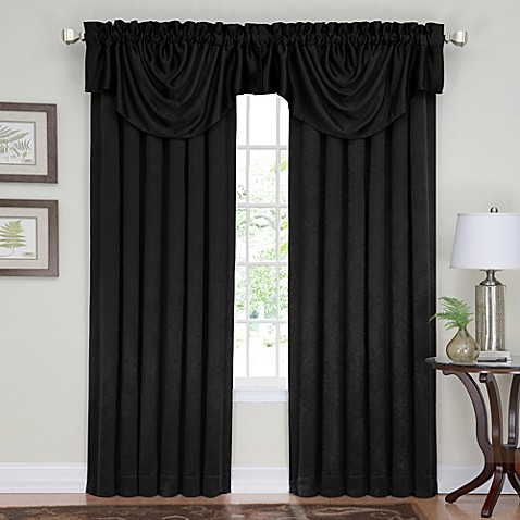 Insola Eden Blackout Rod Pocket Back Tab Window Curtain
