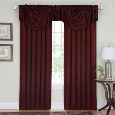 Insola Eden Beaded Window Curtain Valance