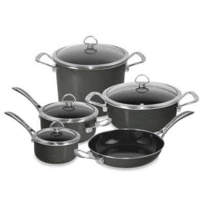 Copper Fusion® 9-Piece Cookware Set