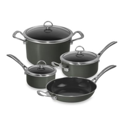 Chantal® Copper Fusion 7-Piece Cookware Set in Onyx