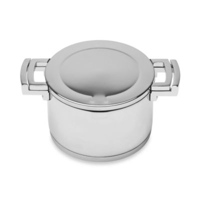 BergHOFF® Neo 5.2-Quart Stainless Steel Covered Stock Pot