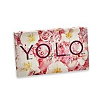 YOLO Floral Wall Art