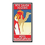 Algeria Vintage Travel Printed Canvas Wall Art