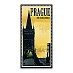 Prague Vintage Travel Printed Canvas Wall Art