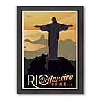 Rio Vintage Travel Printed Canvas Wall Art