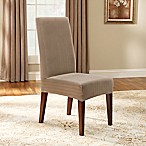 Sure Fit® Stretch Pinstripe Short Dining Chair Slipcover