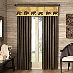 Cedar Ridge Bear Lodge Window Panels and Valance