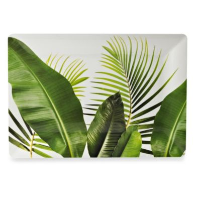 Poolside Palms 20-Inch Melamine Square Serving Tray