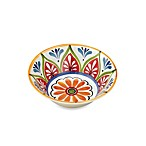Mirasol Hand Painted Cream 6.5-Inch Round Cereal Bowl