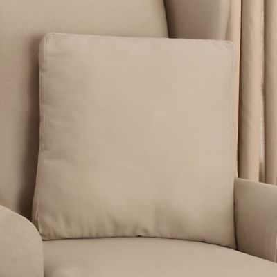 Sure Fit® Cotton Duck 18-Inch Square Throw Pillow in Linen