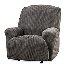 Sure Fit® Space-Dyed Stretch Pique Recliner Slipcover