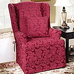 Sure Fit® Scroll Wing Chair Slipcover