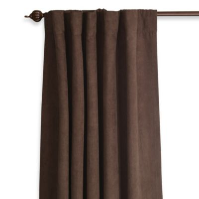 Sure Fit® Soft Suede 84-Inch Window Panel