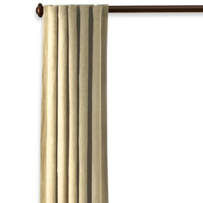 Sure Fit® Soft Suede 84-Inch Window Curtain Panel in Cream