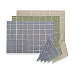 Sandscape 100% Cotton Woven Placemat and Napkin Collection